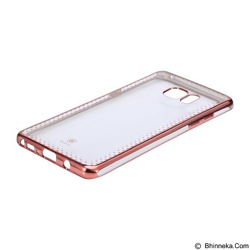 BASEUS Shining Case For Samsung Galaxy Note 7 - Rose Gold (Merchant) - Casing Handphone / Case