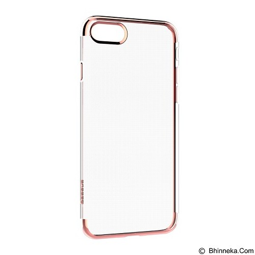 BASEUS Shining Case TPU for Apple iPhone 7 Plus - Rose Gold (Merchant) - Casing Handphone / Case