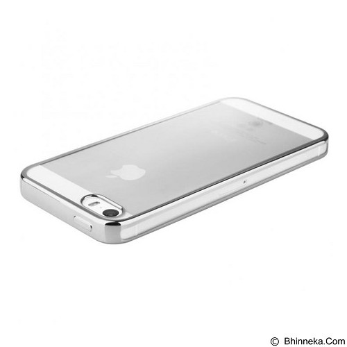 BASEUS Shining Case for Apple iPhone 5/5S/5SE - Silver - Casing Handphone / Case