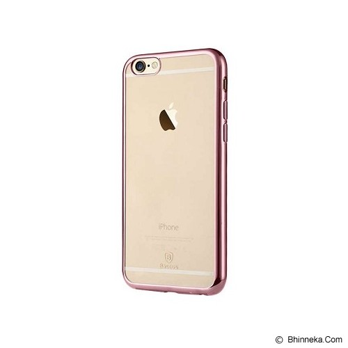 BASEUS Shining Case for Apple iPhone 6 Plus/6S Plus - Rose Gold - Casing Handphone / Case