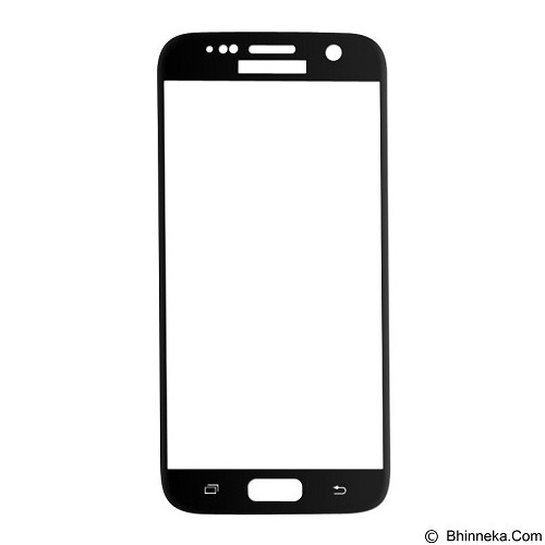BASEUS Silk-screen 3D Arc Protective Film 0.3mm for Samsung Galaxy S7 - Black - Screen Protector Handphone