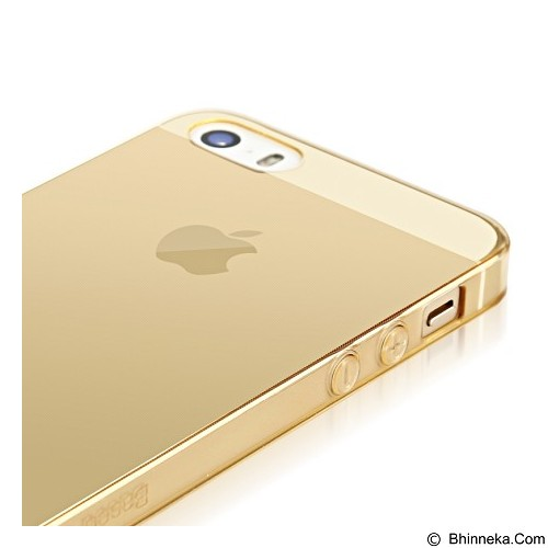 BASEUS Simple Case for Apple iPhone 5/5s/SE - Gold (Merchant) - Casing Handphone / Case