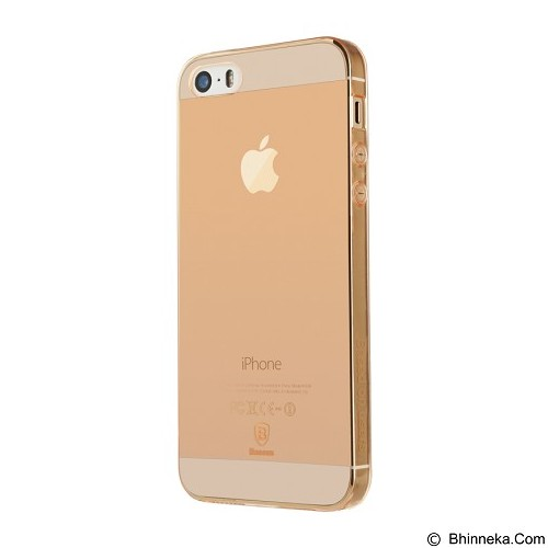 BASEUS Simple Case for Apple iPhone 5/5s/SE - Rose Gold (Merchant) - Casing Handphone / Case