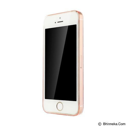 BASEUS Sky Case for Apple iPhone 5/5s/SE - Transparant Pink - Casing Handphone / Case