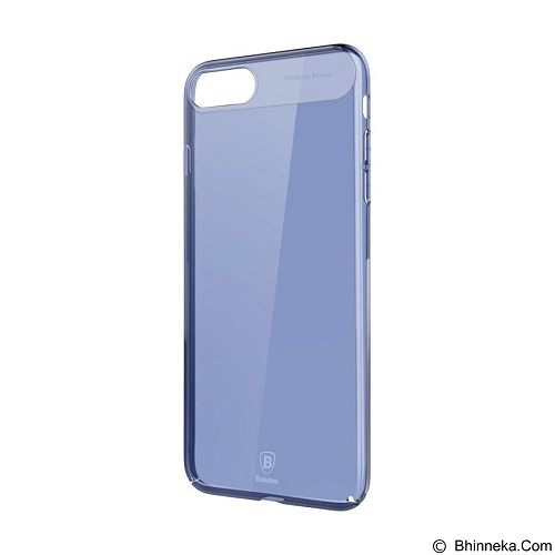 BASEUS Sky Case for Apple iPhone 7 - Transparent Blue (Merchant) - Casing Handphone / Case