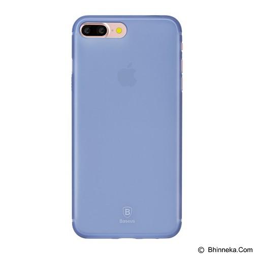 BASEUS Slim Case For Apple iPhone 7 Plus - Transparent Blue  (Merchant) - Casing Handphone / Case
