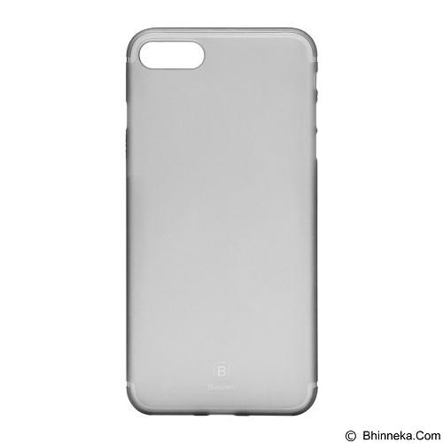 BASEUS Slim Case For Apple iPhone 7 - Transparent Black (Merchant) - Casing Handphone / Case