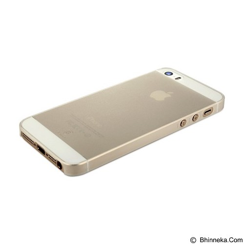 BASEUS Slim Case for Apple iPhone 5/5S/SE - White - Casing Handphone / Case