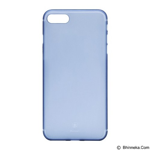 BASEUS Slim Case for Apple iPhone 7 - Transparent Blue (merchant) - Casing Handphone / Case