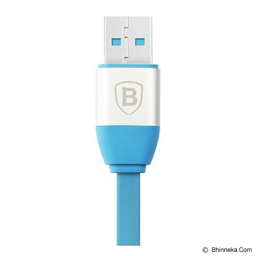 BASEUS Smart Power-off Series Lightning Data Cable for iPhone - Blue (Merchant) - Cable / Connector Usb