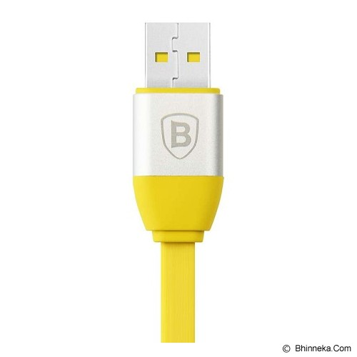 BASEUS Smart Power-off Series Lightning Data Cable for iPhone - Yellow - Cable / Connector Usb