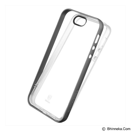 BASEUS Soft Feather Series Case For Apple iPhone 5/5S/SE - Black - Casing Handphone / Case