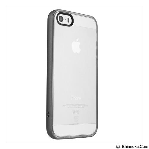BASEUS Soft Feather Series Case For Apple iPhone 5/5S/SE - Black - Casing Handphone / Case