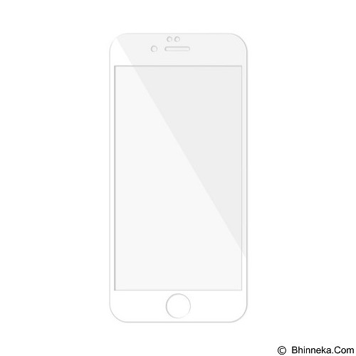 BASEUS Stainless Steel Tempered Glass Screen Protector 0.15mm For Apple iPhone 6/6S - White - Screen Protector Handphone