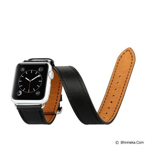 BASEUS Sunlord Series Watchband 42mm for Apple Watch - Black - Casing Smartwatch / Case