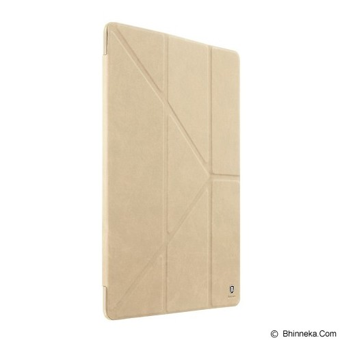 BASEUS Terse Series Leather Case For Apple iPad Pro - Khaki - Casing Tablet / Case