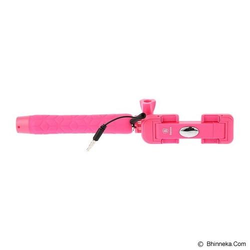 BASEUS View Series Selfie Stick - Pink - Gadget Monopod / Tongsis
