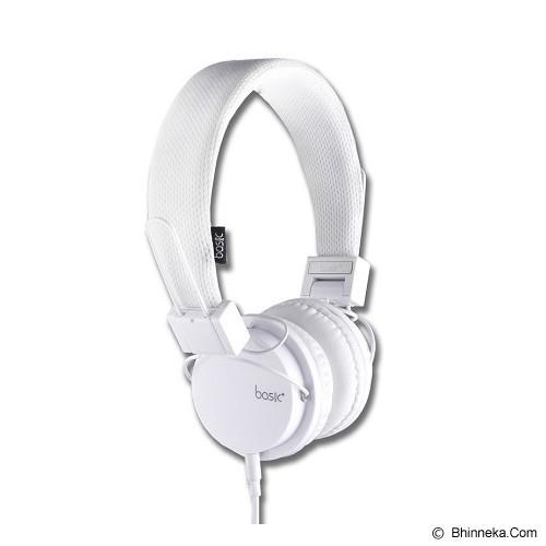 BASIC Headphone [HP-22] - White - Headphone Full Size
