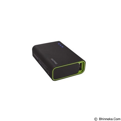 ON PRO Powerbank 6000mAh [MB-Q6] - Black Green - Portable Charger / Power Bank