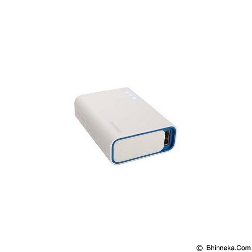 ON PRO Powerbank 6000mAh [MB-Q6] - White Blue - Portable Charger / Power Bank