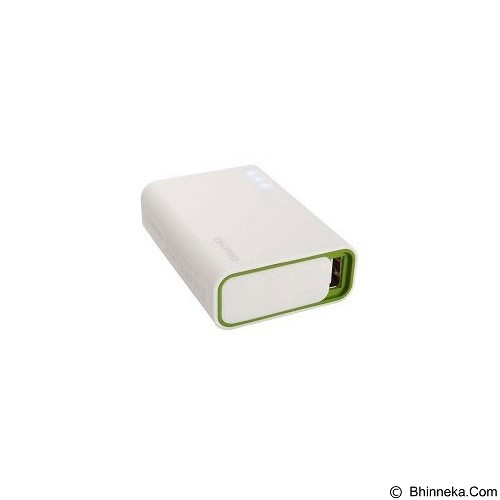 ON PRO Powerbank 6000mAh [MB-Q6] - White Green - Portable Charger / Power Bank