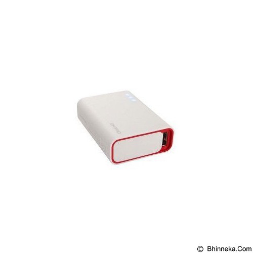 ON PRO Powerbank 6000mAh [MB-Q6] - White Red - Portable Charger / Power Bank