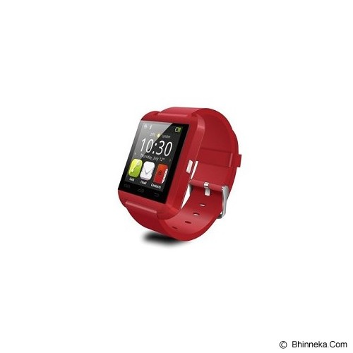 BCARE Smartwatch U8 - Red - Smart Watches