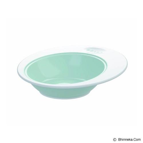BEABA Ellipse Bowl [913271HM] - Pastel Blue - Perlengkapan Makan dan Minum Bayi