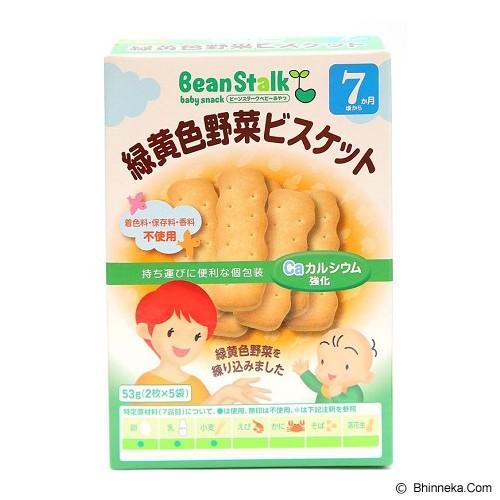 BEANSTALK High in Beta-Carotene Biscuit  53gr 7m+ [K082] - Makanan dan Susu Formula Bayi dan Anak