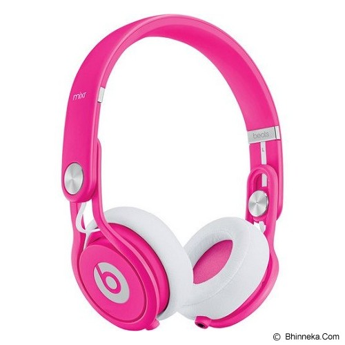 BEATS™ BY DRE™ Mixr™ On-Ear Headphone [BT ON MXR NEON PNK] - Neon Pink - Headphone Full Size