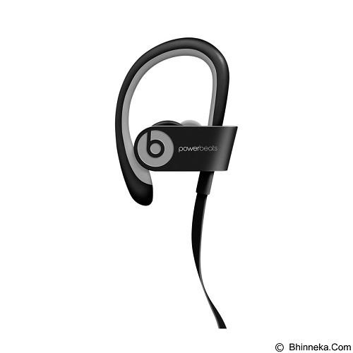 BEATS™ BY DRE™ Powerbeats™ 2 Wireless In-Ear Headphone [MKPP2PA/A] - Black Sport - Earphone Ear Monitor / IEM