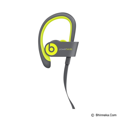 BEATS™ BY DRE™ Powerbeats™ 2 Wireless In-Ear Headphone [MKPX2PA/A] - Shock Yellow - Earphone Ear Monitor / IEM