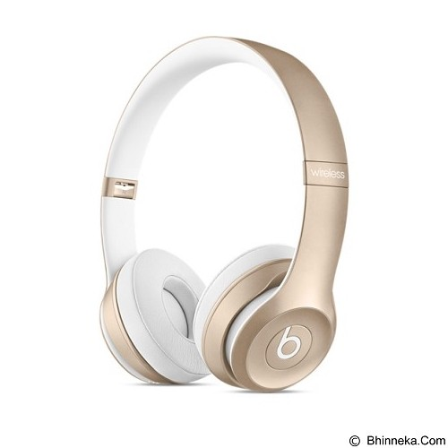 BEATS™ BY DRE™ Solo 2 Wireless On-Ear Headphone [MKLD2PA/A] - Gold - Headphone Portable