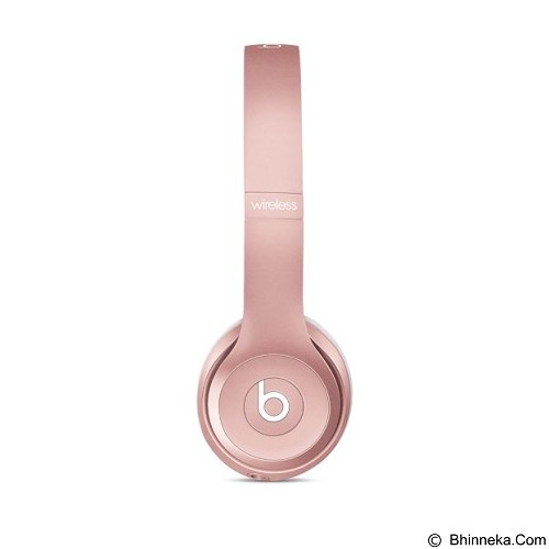 BEATS™ BY DRE™ Solo 2 Wireless On-Ear Headphone [MLLG2PA/A] - Rose Gold - Headphone Portable