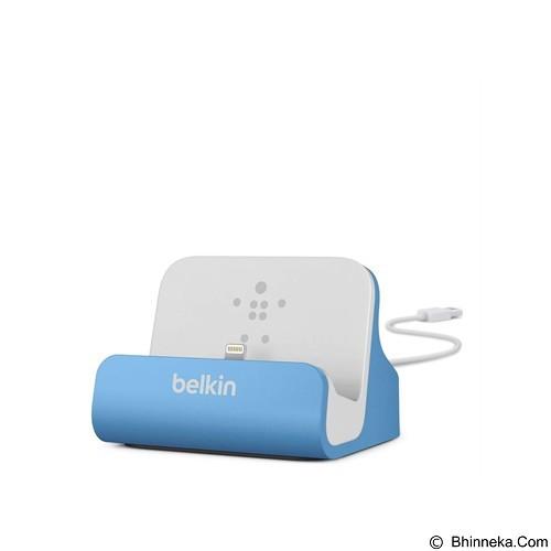 BELKIN Lightning ChargeSync Dock [F8J045BTBLU] - Blue (Merchant) - Gadget Docking