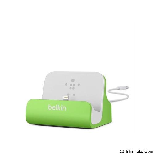 BELKIN Lightning ChargeSync Dock [F8J045BTGRN] - Green (Merchant) - Gadget Docking
