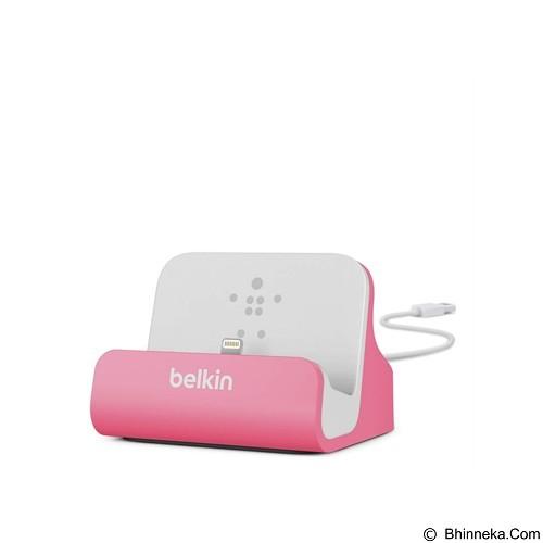 BELKIN Lightning ChargeSync Dock [F8J045BTPNK] - Pink (Merchant) - Gadget Docking