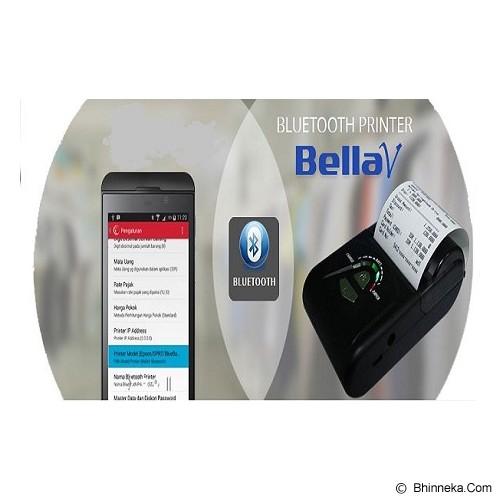 BellaV Mobile Printer Thermal Bluetooth BellaV (Andorid) - Printer Label & Barcode