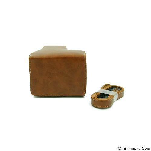 BEMPIT STORE Camera Case EOS M3 - Coklat Muda (Merchant) - Camera Compact Pouch