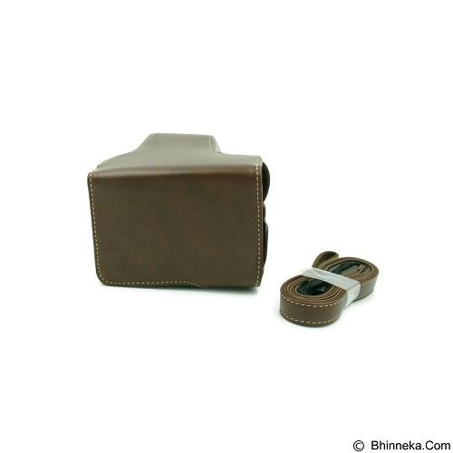 BEMPIT STORE Camera Case EOS M3 - Coklat Tua (Merchant) - Camera Compact Pouch