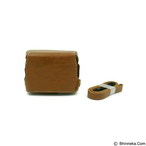 BEMPIT STORE Camera Case G1X Mark 2 - Coklat Muda (Merchant) - Camera Compact Pouch