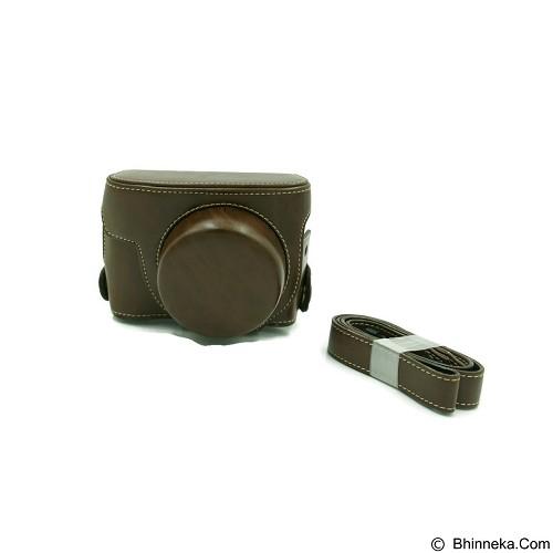 BEMPIT STORE Camera Case G1X Mark 2 - Coklat Tua (Merchant) - Camera Compact Pouch