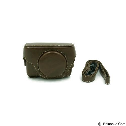 BEMPIT STORE Camera Case RX100 - Coklat Tua (Merchant) - Camera Compact Pouch