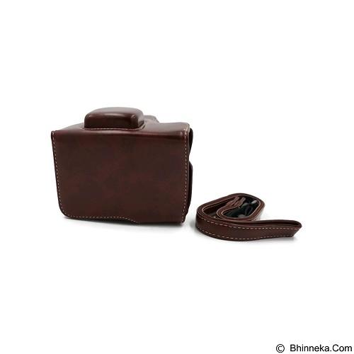 BEMPIT STORE Camera Case XA1/XA2/XM1 - Coklat Tua (Merchant) - Camera Compact Pouch