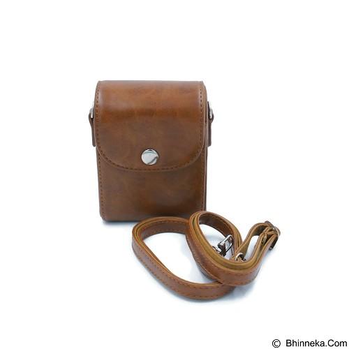 BEMPIT STORE Tas Kamera Universal - Coklat Muda (Merchant) - Camera Shoulder Bag