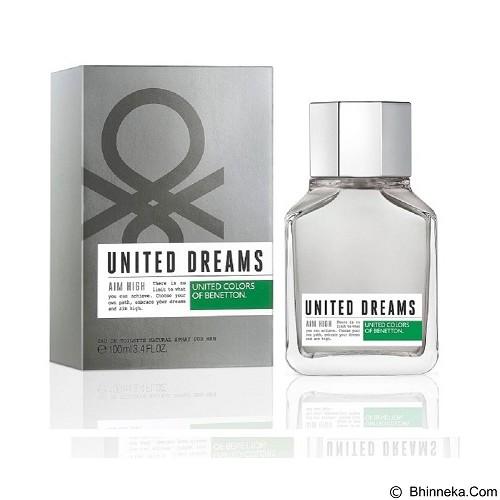 BENETTON United Dream Aim High for Men EDT 100 ml (Merchant) - Eau De Toilette untuk Pria
