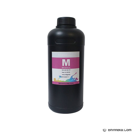 BENGKELPRINT Tinta LED UV Magenta Bold INK 1 Liter - Tinta Printer Refill
