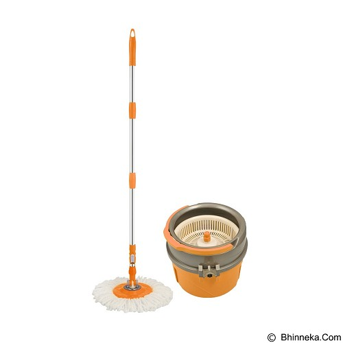 BEST PONGS 2 in 1 Spin Mop Single Bucket - Pembersih Lantai