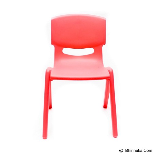 BEST PONGS Pikko Kids Chair [P003947] - Red (Merchant) - Kursi Susun