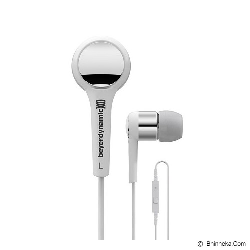 BEYERDYNAMIC In Ear Headphone [MMX102iE] - Silver - Earphone Ear Monitor / Iem